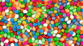 Colourful Candy Eggs Texture — Stock Photo