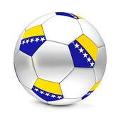 サッカー ボール/サッカー ボスニア ・ ヘルツェゴビナ — ストック写真