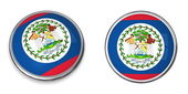 Banner Button Belize — Stock Photo