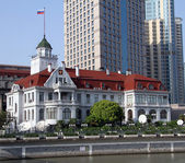 Russo Consolato generale a shanghai, Cina — Foto Stock
