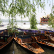Boats on the lake — Stock Photo #10731305
