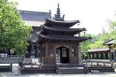 Pagoda in buddhist temple — Stock Photo