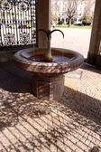 Manantial de agua termal caliente — Foto de Stock