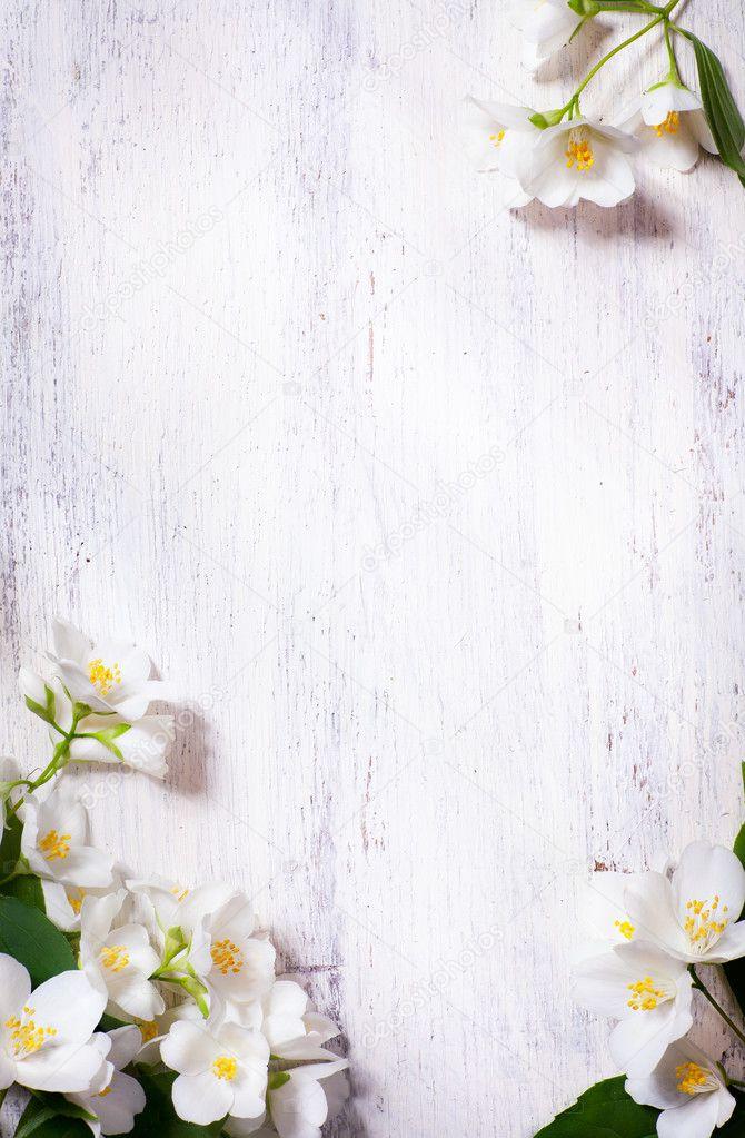 фон весна на белом фоне