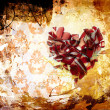 Art Abstraction ornament broken heart — Stock Photo