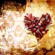 Art Abstraction ornament broken heart — Stock Photo #8595782