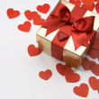 Valentine's greeting card — Stock Photo #8599188