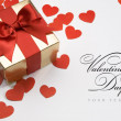 Valentine's greeting card — Stock Photo