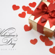 Valentine day greeting card — Stock Photo #8599204