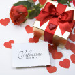 Stok fotoğraf: Valentine day greeting card