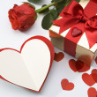Valentine's greeting card — Stock Photo #8599267