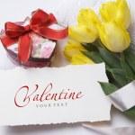 Happy Valentine's Day morning — Stock Photo