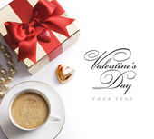 Art Valentines day pleasant evening — Stock Photo