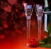 Art sexual Valentines Day greeting card Happy Valentine — Stock Photo