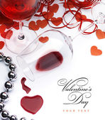 Art sexual greeting card Happy Valentine — Stock Photo