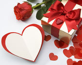 Valentine's greeting card — Stock Photo