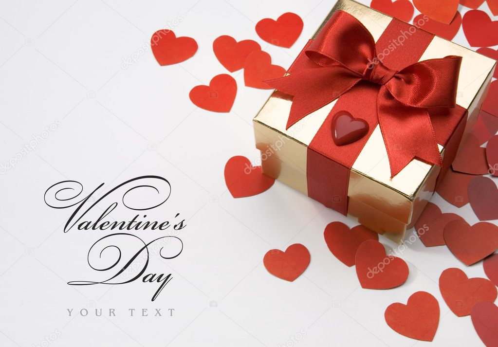 Art valentines day greeting card — Stock Photo #8599204