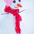 Stock Photo: Happy snowman