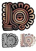 Mayan design — Stock Vector