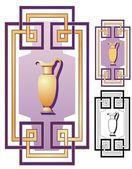 Griechische deko-ornament — Stockvektor