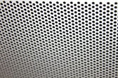 A background of circular indentations in metal. — Foto de Stock