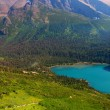 Stock Photo: Grinnell Lake Glacier National Park