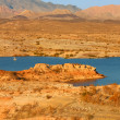 Stock Photo: Lake Mead Evening Scenery