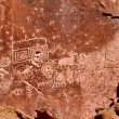 Stock Photo: Fremont Indian State Park Petroglyphs