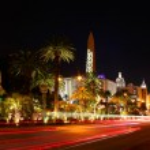 Las Vegas Boulevard Traffic — Stock Photo
