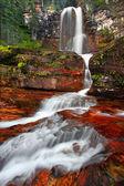 Virginia cae en el parque nacional los glaciares — Foto de Stock