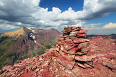Mount Sinopah Summit - Glacier Park — Stock Photo