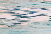 Glacial Meltwater from Grinnell Glacier — Foto Stock