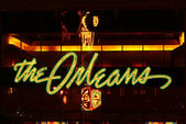 Orleans Hotel and Casino Entrance — Stock Photo