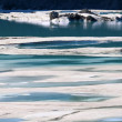 Stock Photo: Glacial Meltwater from Grinnell Glacier