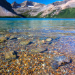 Stock Photo: Bow Lake Banff National Park
