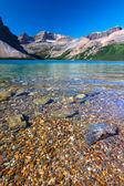Luk jezera v národním parku banff — Stock fotografie