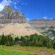 Logan Pass - Glacier National Park — Stock Photo