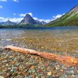 Stock Photo: Mount Sinopah - Glacier National Park