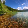 Kintla Lake - Glacier Park — Stock Photo