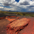 Craters of the Moon Landscape — Stock Photo