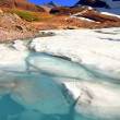 Grinnell Glacier Melting — Stock Photo