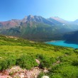 Stock Photo: Grinnell Lake in Glacier Park
