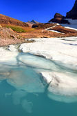 Glaciar grinnell fusión — Foto de Stock