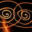 Swirls of Flame — Stock fotografie