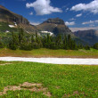 Scenery of Glacier National Park — Stock Photo