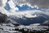 Mount Edith Cavell Storms - Canada — Stock Photo