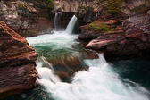 Saint Mary Falls - Montana — Stock Photo