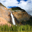 Takakkaw Falls - Yoho National Park - Stock Photo