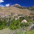 Stock Photo: Rugged Mountain Scenery of Wyoming