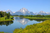 Snake River and Grand Tetons — Stock Photo